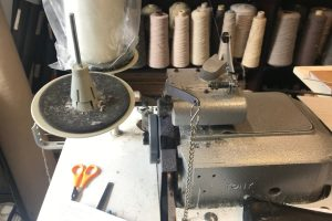 Dean Wray Carpets Edge Binding Whipping Machine